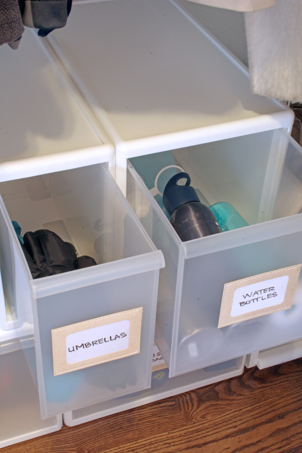 Organize with Stacking Drawers