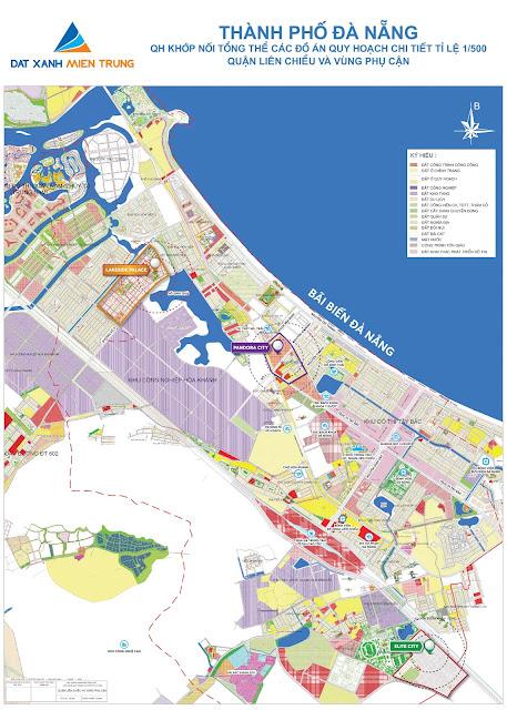 Bản đồ quy hoạch Đà Nẵng