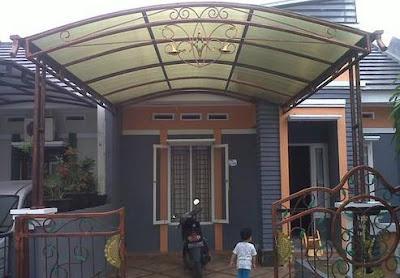Contoh Model Kanopi Rumah Minimalis Keren dan Indah