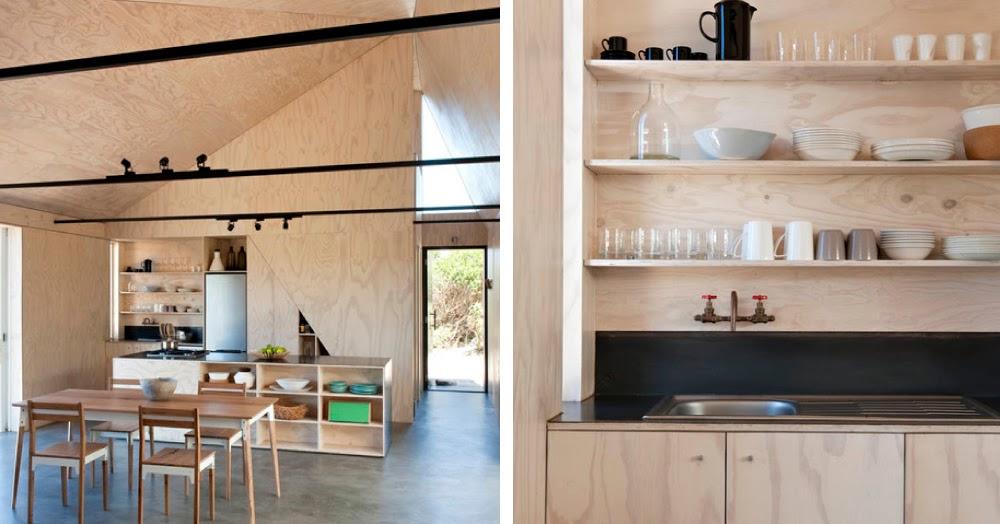 Una casa per il week end dal design semplice e funzionale for Quanto costa una casa con 4 camere da letto