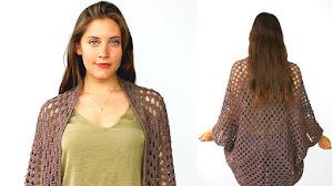 Sacón Crochet Fácil de tejer / Tutorial en Español e Inglés