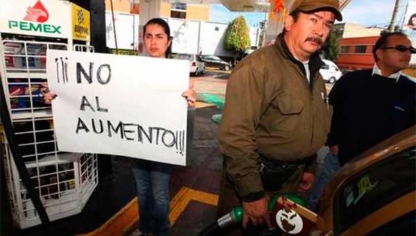Anuncian nuevo gasolinazo en México