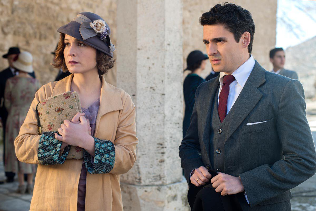 Marga y Pablo en 'Las Chicas del Cable'