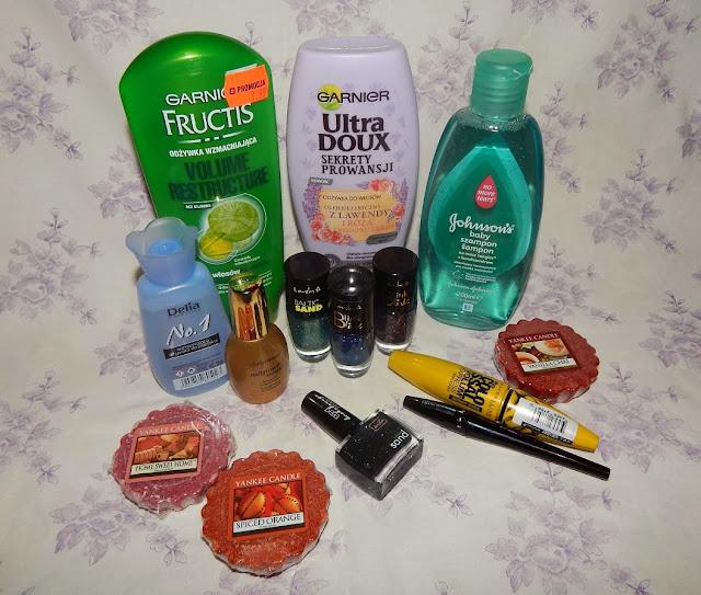 """Dużo nowości w mojej """"kosmetyczce"""" :)"""