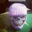 A Hat For A Baby Skull (And A Crystal Skull)