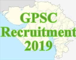 GPSC Recruitment 2019(Reopen) | At 1380 Police Inspector & Other Vacancies