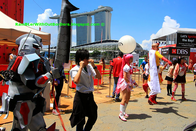 Cosplay, DBS Marina Regatta 2015, Singapore