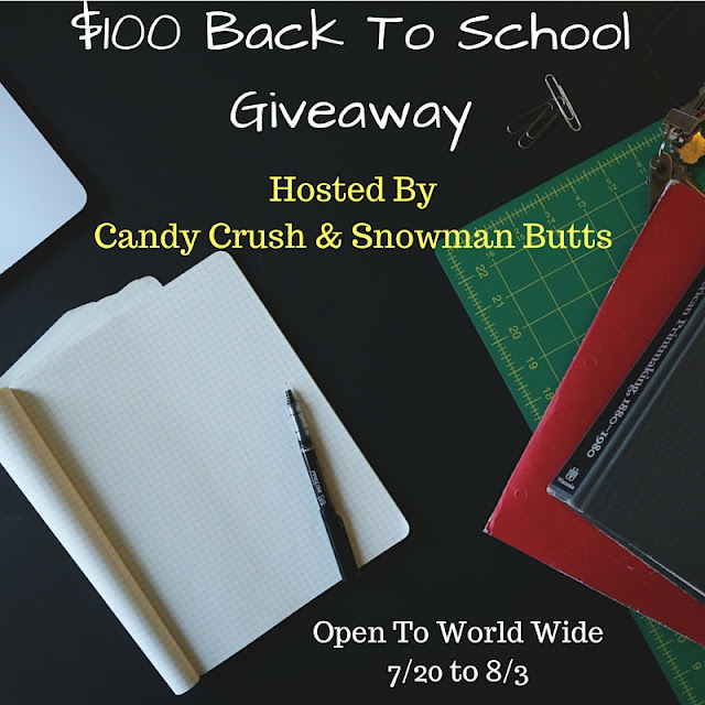 Blogger Opp $100 PayPal Back To School Giveaway