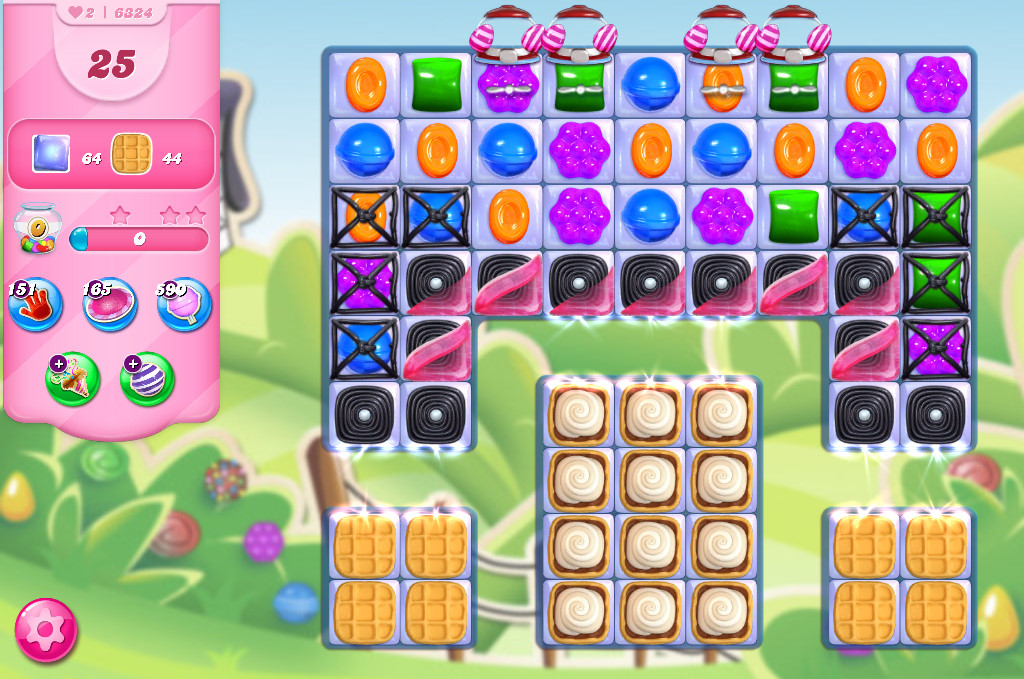 Candy Crush Saga level 6324