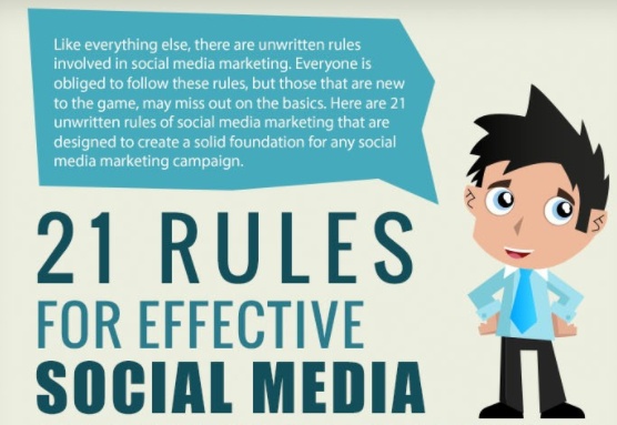 21 Rules Of Success: 21 Rules For Effective Social Media Marketing Strategies