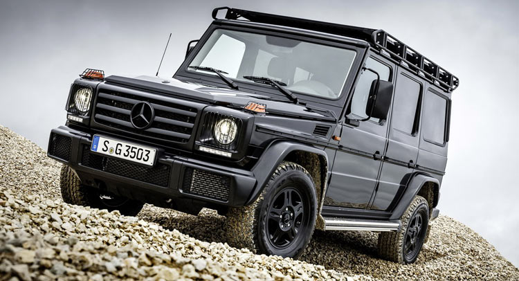 New 2017 Mercedes-Benz G350d Professional Brings G-Class Closer To Its Roots