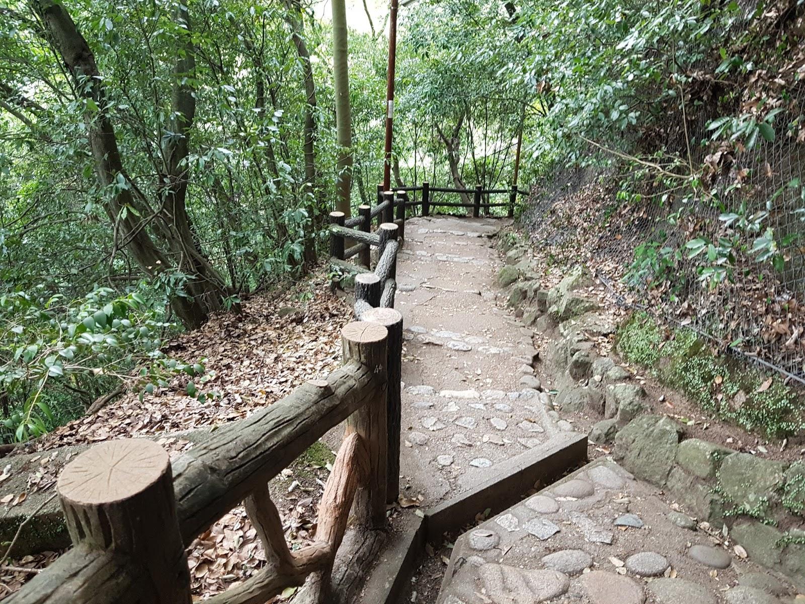 Kobe Nunobiki Falls Stairs