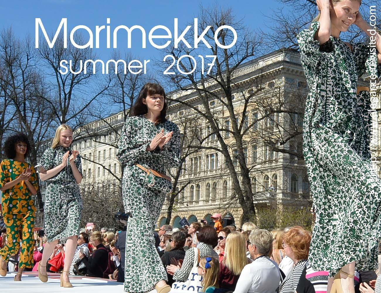 Marimekko summer 2017