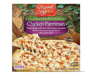 A stock image of Mama Cozzi's Italian Chicken Parmesan, from Aldi