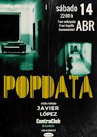 Concierto de Popdata y Javier López en Contra Club