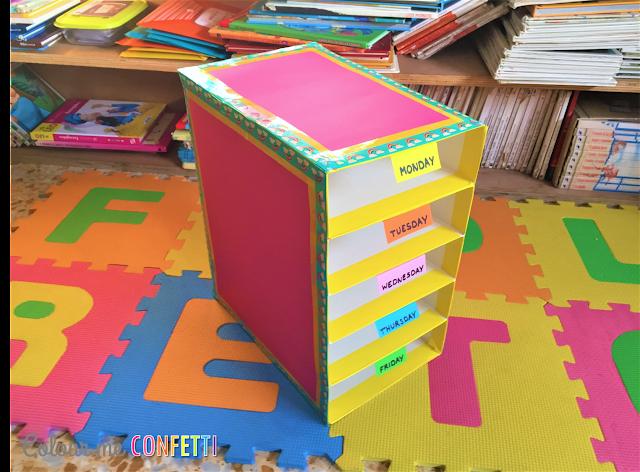Estantería con cajas de cereales ♥ Shelf out of cereal boxes