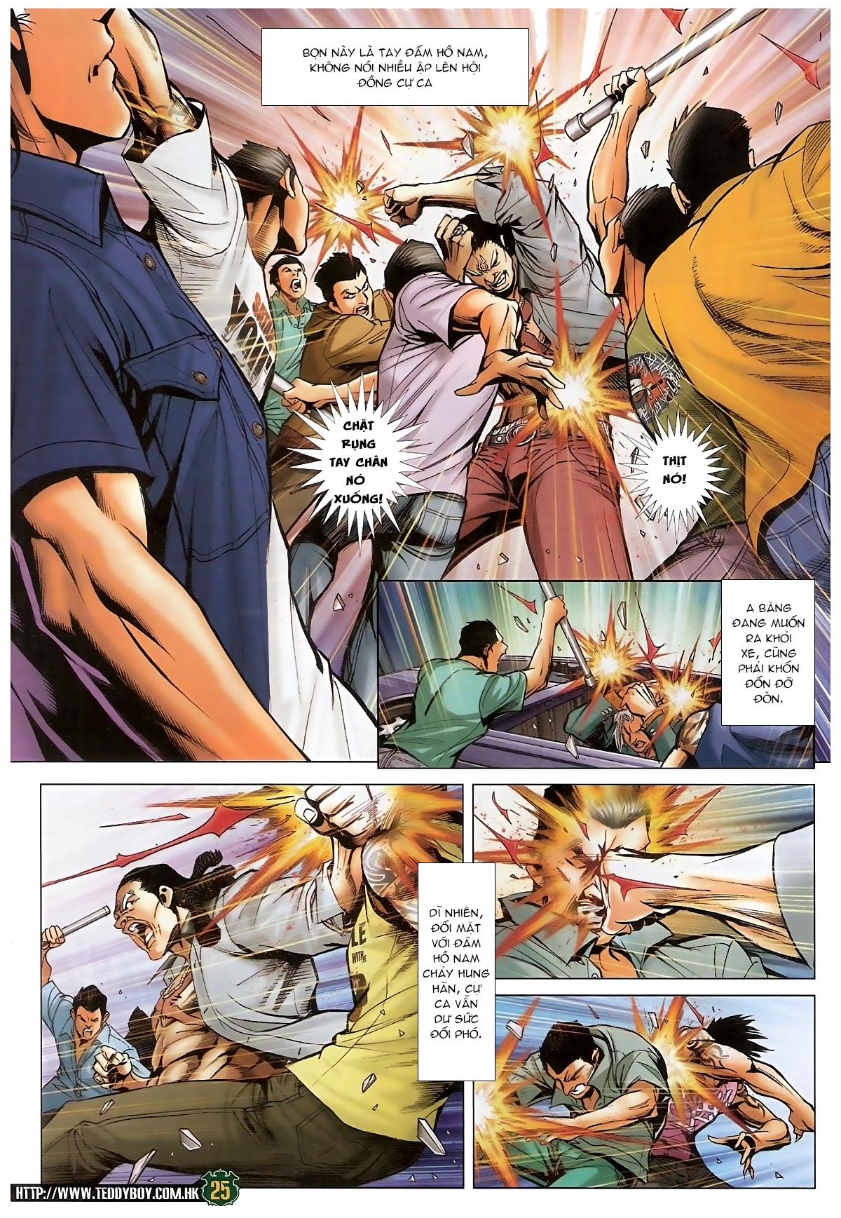 Người Trong Giang Hồ - Chapter 1549: Chơi bẩn - Pic 24