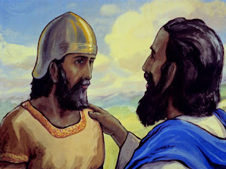 "Moses spoke to the people, ""Joshua will be your leader, and will take you into the promised land."