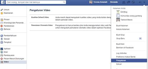 Ini Dia Cara Mematikan  Autoplay Vidio Di Facebook Dan Twitter !!