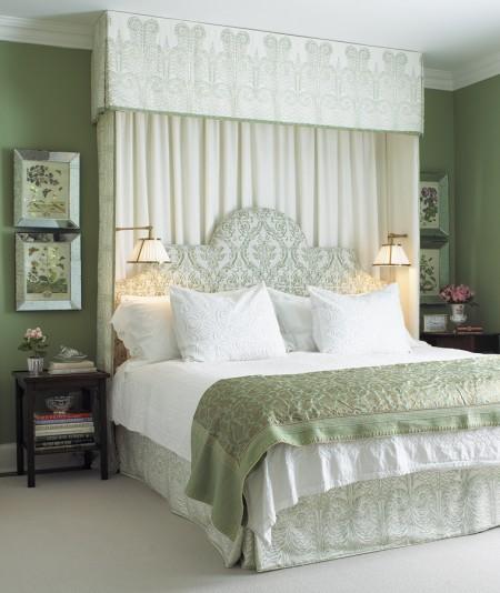 Aesthetic Oiseau Serene Green Bedroom