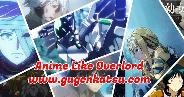 anime mirip overlord