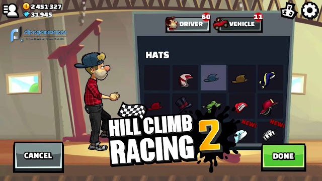 Download Hill Climb Racing 2 Mod Apk Terbaru