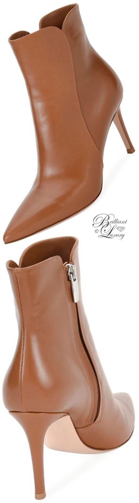 Brilliant Luxury ♦ Gianvito Rossi Calf Leather Booties