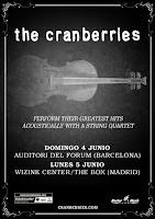 Conciertos en España 2017 de The Cranberries