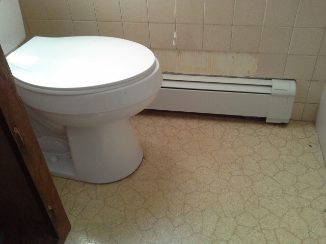 Replace baseboard heater cover