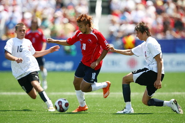 Austria y Chile en Copa del Mundo Sub-20 Canadá 2007, 22 de julio