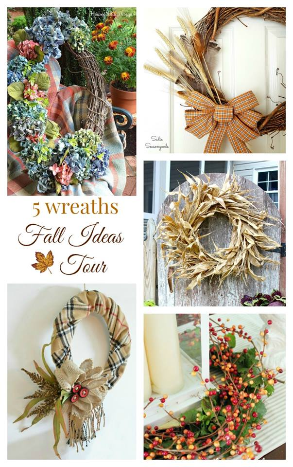 Fall Wreaths - Fall Ideas Tour 2016