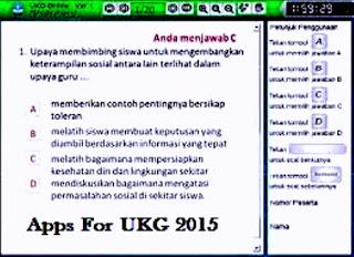 Aplikasi UKG 2015
