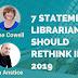 重新思考7條圖書館準則