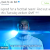 "USAIN BOLT RECENTLY TWEETED - "" I HAVE SIGNED FOR A FOOTBALL TEAM"""