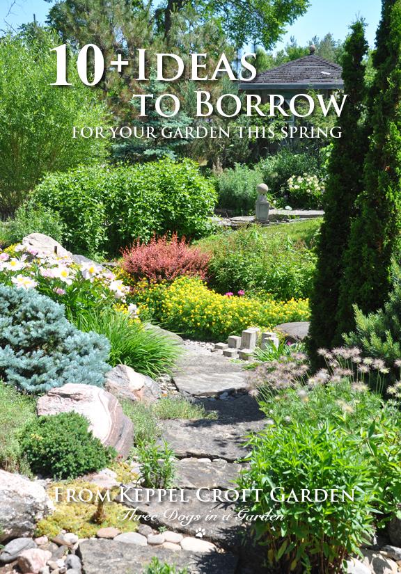 Three Dogs in a Garden: 10+ Ideas to Borrow for your Garden This ...