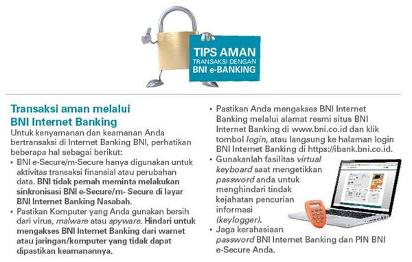 Lebih Mudah Buka Rekening Melalui BNI Internet Banking