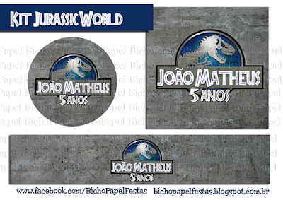 Kit Festa Jurassic World