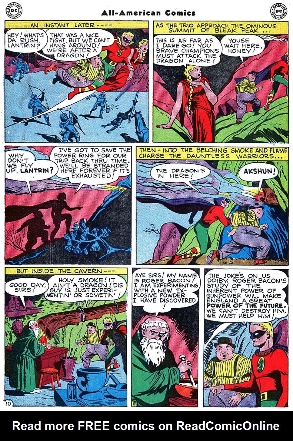 Read online All-American Comics (1939) comic -  Issue #72 - 12