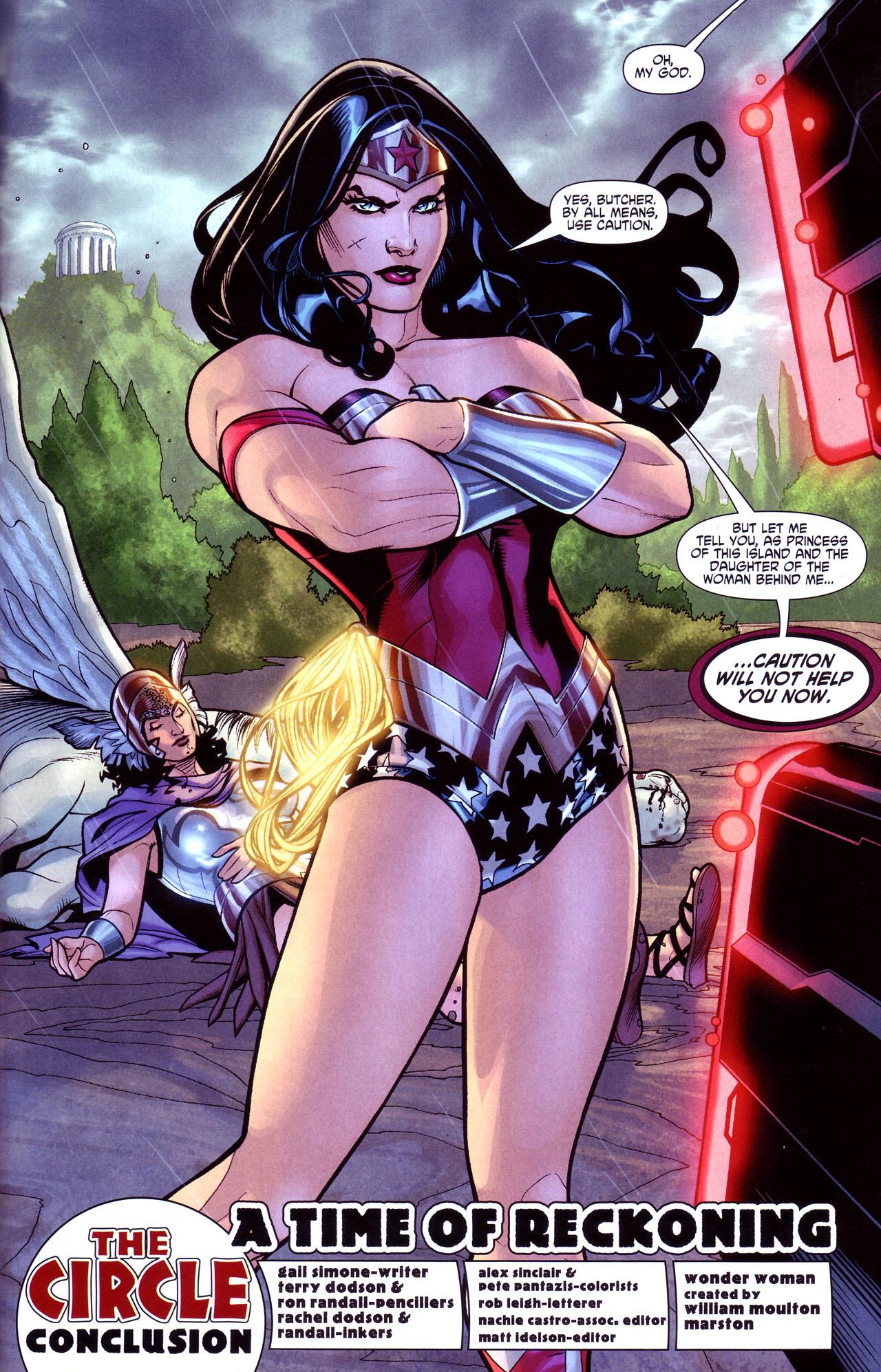 Read online Wonder Woman (2006) comic -  Issue #17 - 9