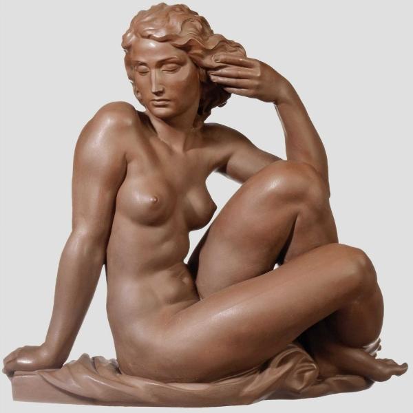Robert Ullmann - Сидящая обнажённая женщина