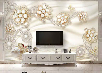 amazing 3D wallpaper for living room walls 3D wall murals images designs (5)