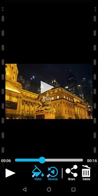 Dan otomatis video Sobat tersimpan, Sobat bisa langsung share videonya.