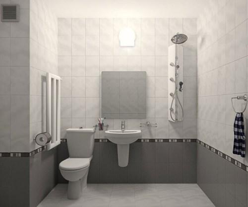 Kamar mandi tanpa bathup