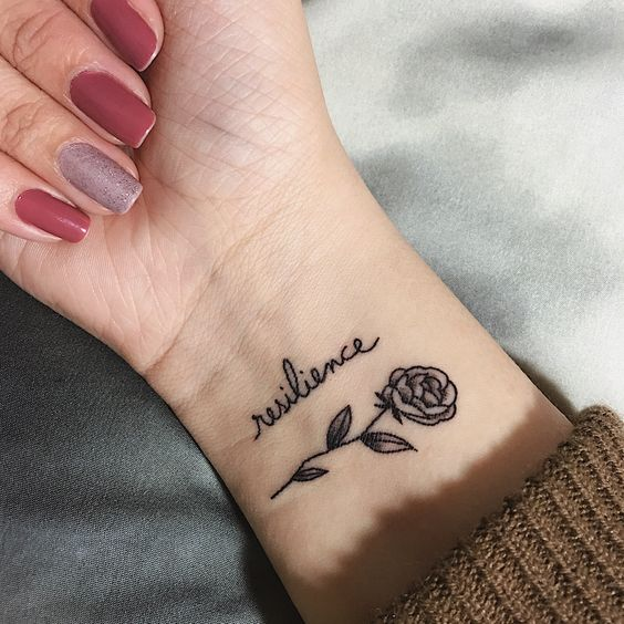 16 simple wrist tattoos that look attractive