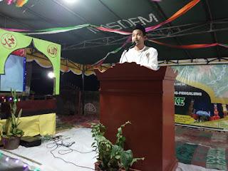 Safari Ramadhan. Kades Pengembur Resmi Membuka MTQ Dusun Tamping