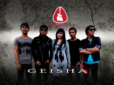 Lirik dan chord Pilihan Hatiku - Geisha
