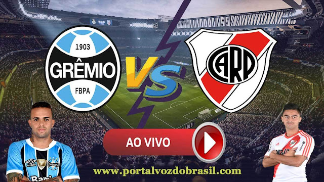 Saiba como assistir jogo de Grêmio x River Plate ao vivo online