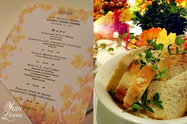USPB Thanksgiving Day with Chef Myrna Segismundo