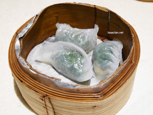 Steamed Spinach Dumpling