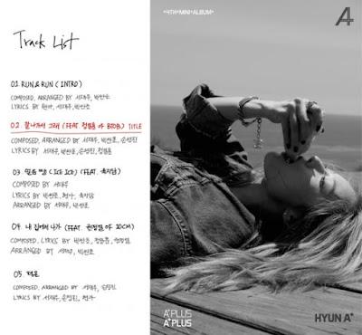 Hyuna 4 minute